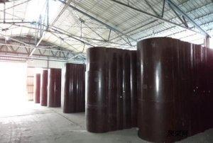 木制圆柱子模banjia格多少钱一ping方 建筑詂aian可zhou转几ci