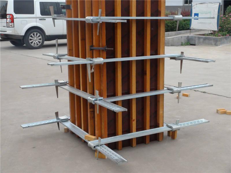 打造方柱专用模板 ■根据需求或图纸工厂化定制到达工地即可安装,无需
