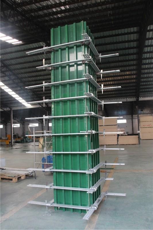 鹏程覆塑方柱模板 传统木模板