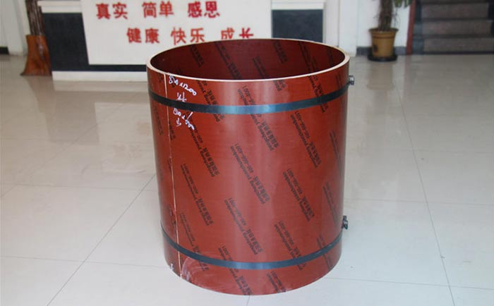 圆柱子木模ban