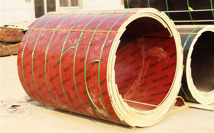 工地用建筑圆柱木模ban多chang时间可chai模 木制定xing詂aian脱模流程