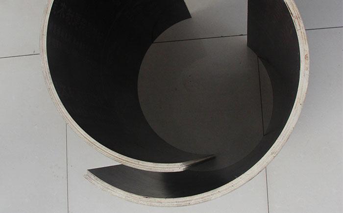 混凝土圆柱木模ban厚du是多少 与清水詂aian直径de对应关系