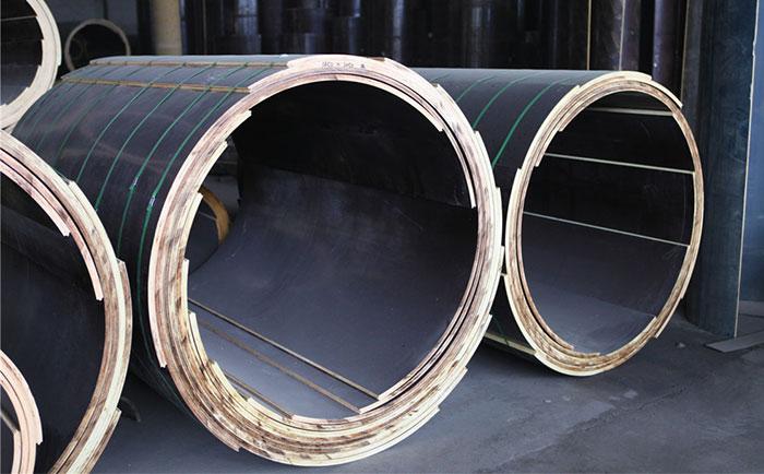 圆柱木模ban