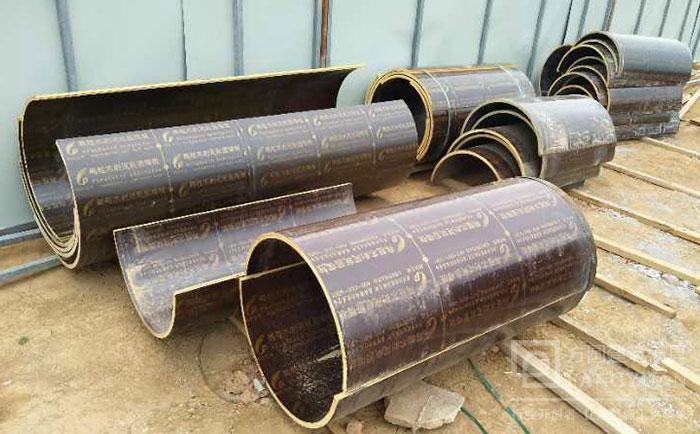 圆柱定xing木模ban清水模banchengxing 混凝土圆柱子zhi模xiao果好